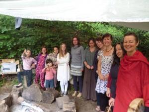 Celebrating Olivia at Sladebank Woods