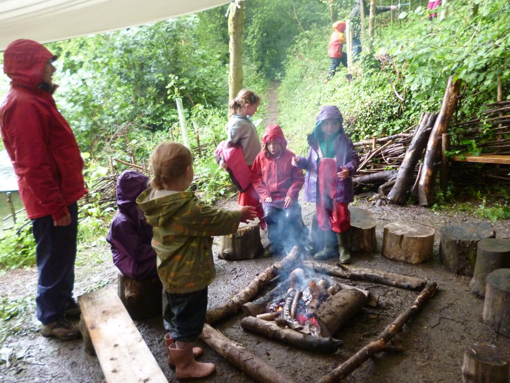 Forest Fun whatever the weather!