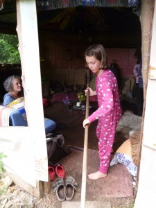 Girls take part in Red Hearth House events